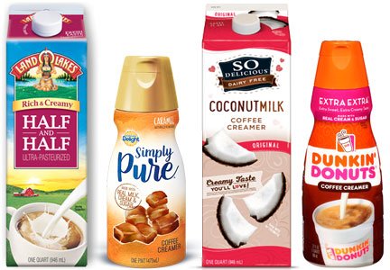 WhiteWave Foods creamers