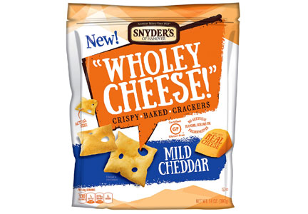 Snyder's-Lance Wholey Cheese gluten-free crackers