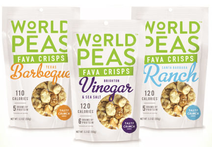 World Peas snacks, Snack it Forward