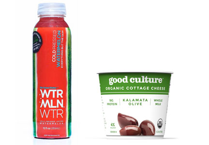 WTR MLN WTR and Good Culture cottage cheese - CAVU