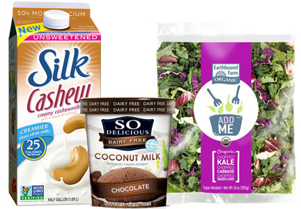 WhiteWave Foods brands - Silk, So Delicious, Earthbound Farms