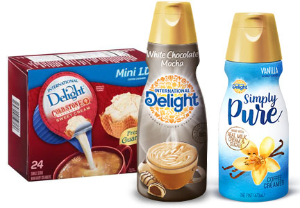 WhiteWave Foods International Delight coffee creamers