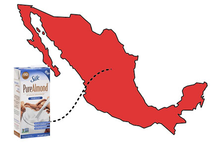 WhiteWave Foods moving into Mexico