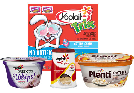 General Mills Yoplait yogurt