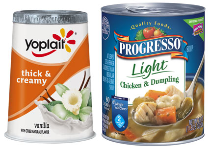 General Mills Yoplait yogurt and Progresso soup