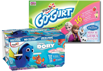 Yoplait Kids yogurt innovation, General Mills